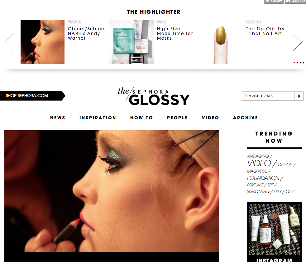 Top Tumblr Blogs Sephora