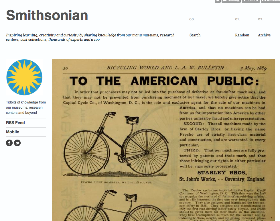 Top Tumblr Blogs Smithsonian