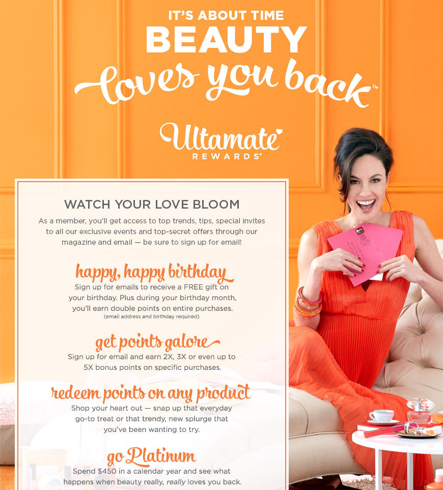 Members of Ultamate Rewards Program Drive 80% of Ulta's Sales