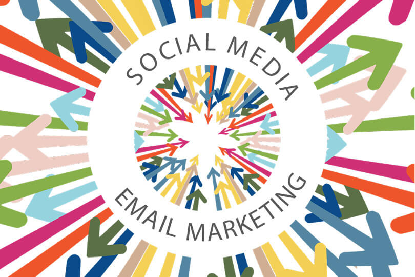 Integration of Email Marketing and Social Media
