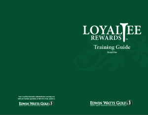 employee training for loyalty program