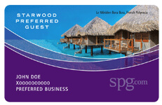 Starwood Preferred Guest Loyalty Program
