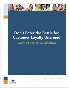 White Paper: Battle for Customer Loyalty Unarmed