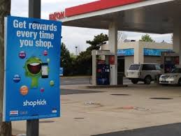 Exxon Rewards Customers for Comintg Into Stores