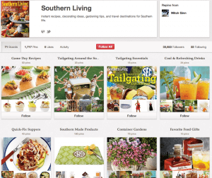 Southern Living Pinterest