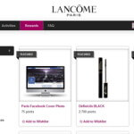 Lancôme Elite Rewards Gives Points for Sharing on Social Media