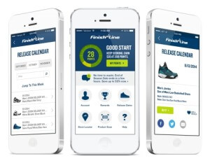 Finish Line Boosts Customer Loyalty with New App