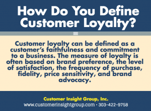 How do You Define Customer Loyalty
