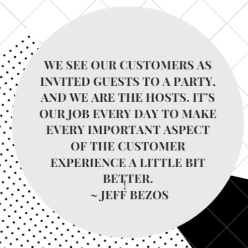 Inspirational Loyalty Quote Jeff Bezos