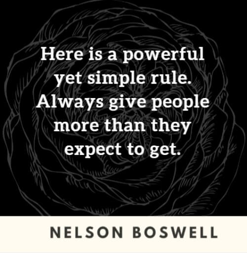 Inspirational Loyalty Quote Nelson Boswell