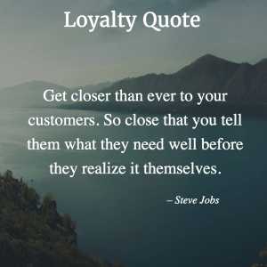 Quotes about Loyalty Marketing