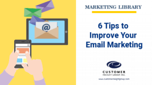 6 Email Marketing Tips 2020