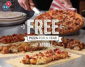 Dominos-Pizza-to-Offer-Free-Pizza-for-a-Year-through-Social-Media-Giveaway-300x234