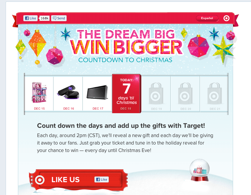Target Egg-Nog Worthy Holiday Campaigns