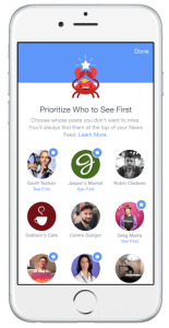 Facebook Prioritizes Stories You See in Your Newsfeed