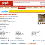 Five Guys on Yelp