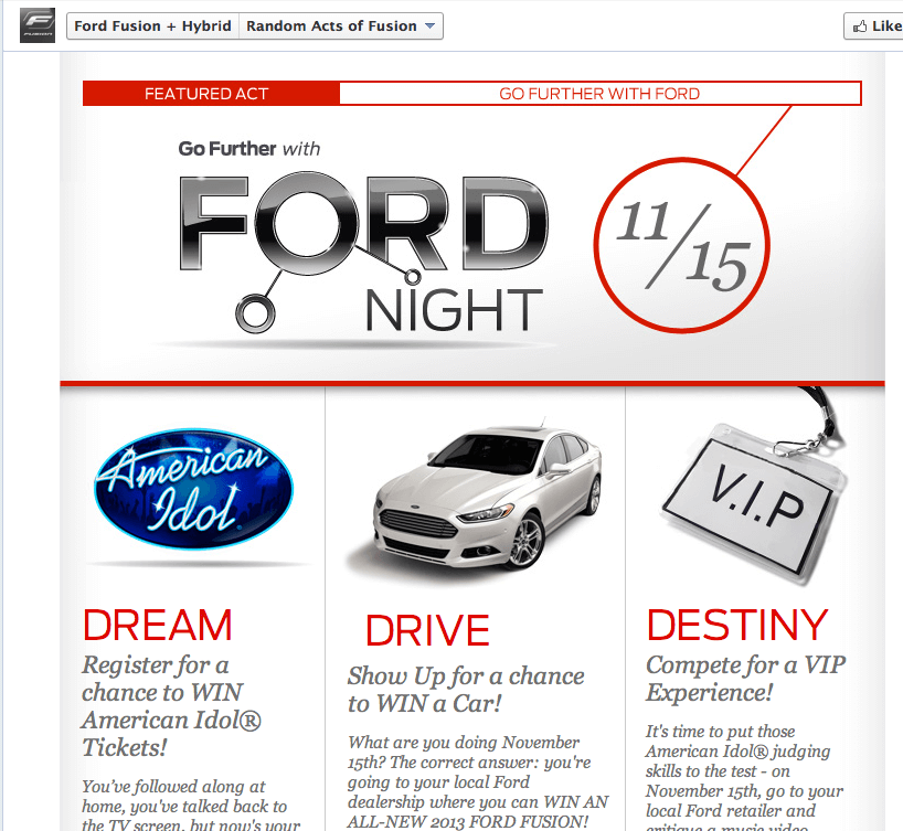 Marketing-Sweepstakes-and-Contests Ford