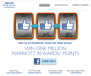 Marriott Rewards Loyalty Program Engages Facebook Fans