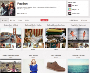 The Pinterest Brand PacSun Image