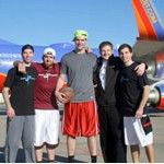 Trick-shot artists help Southwest Airlines ticket loyal fans