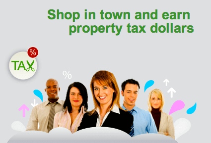 Rewards Card for Property Tax