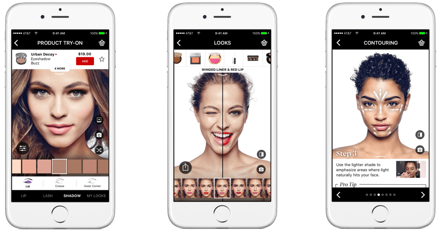 Sephora Virtual Artist on Mobile