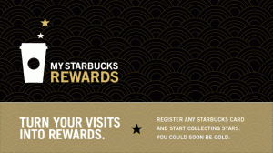 Starbucks Tiers Program to Reward Loyal Customers