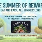 Chipotle's Frequent Diner Program: Chiptopia Summer Rewards