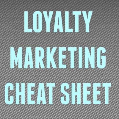 LOYALTY PROGRAM CHEAT SHEAT