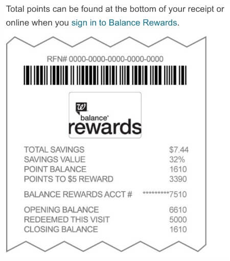 Balance Rewards Loyalty Program Rewards Balance