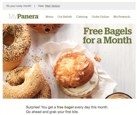My Panera Surprise and Delight Offer