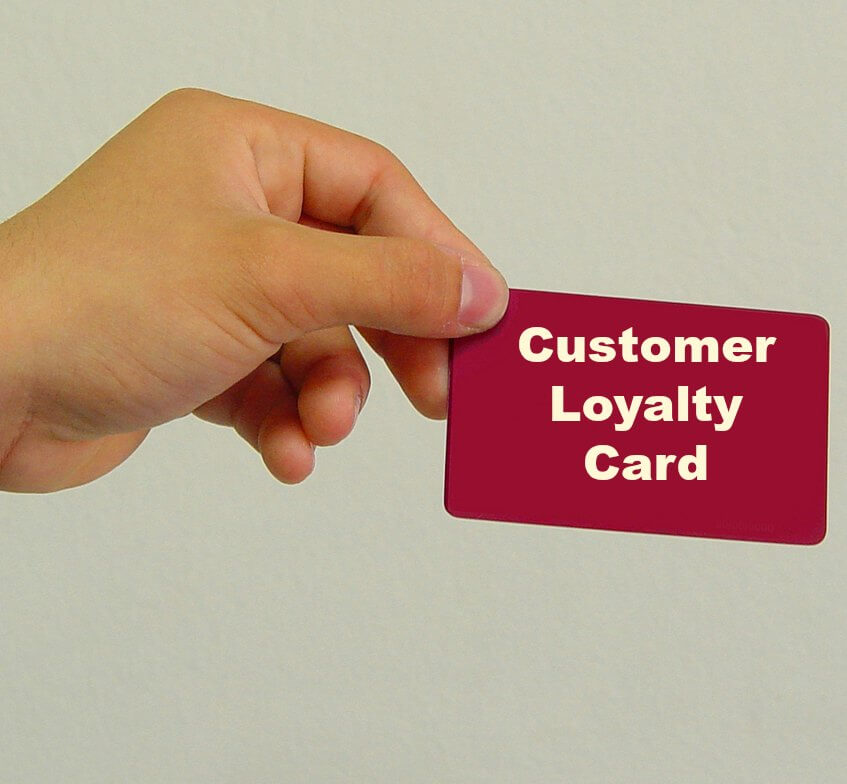 Customer Loyalty Program Membership Card