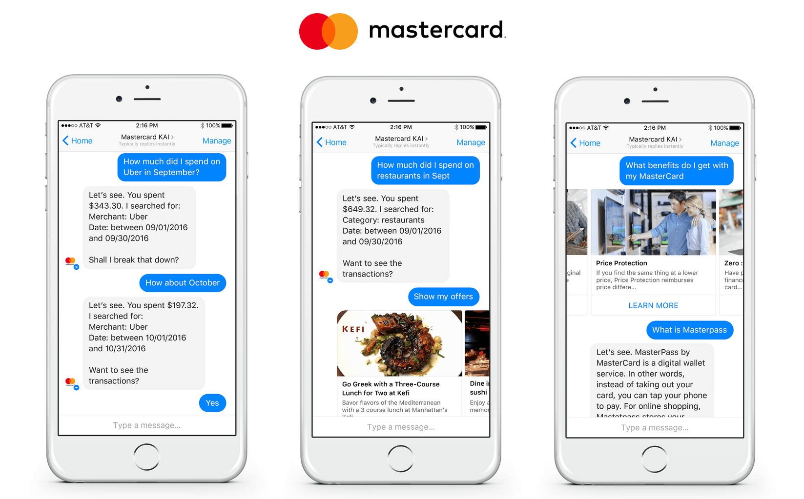 MasterCard Launches Artificial Intelligence Bot for Consumer Banking