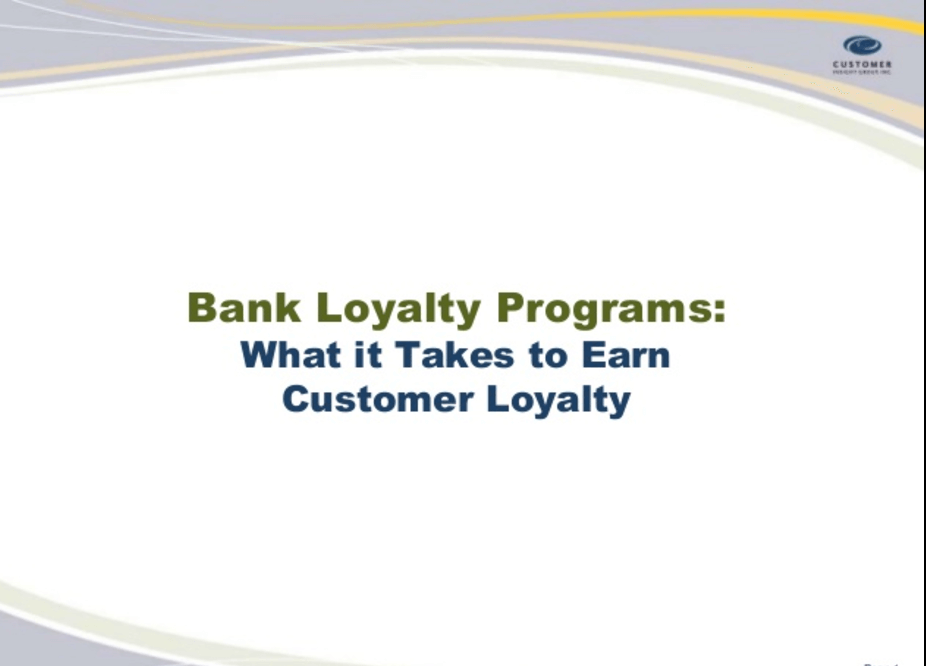 Hot Topics Hot Topics Search THE DO'S AND DON'TS OF BANK LOYALTY