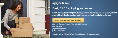 Amazon Prime Fee Based Loyalty Program