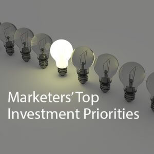 Marketers' Top Investment Priorities