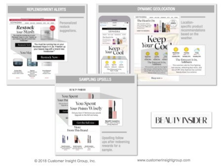 example of sephora personalized communication