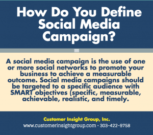 Definition of Social Media Campaign