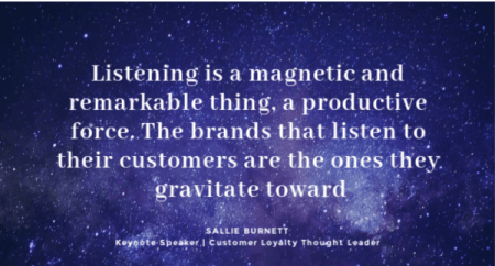 listening to customers improves customer loyalty