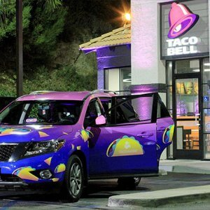 """Taco Bell partners with Lyft to announce """"Taco Mode"""""""
