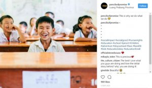 Pencils of Promise Uses Hashtag Movements