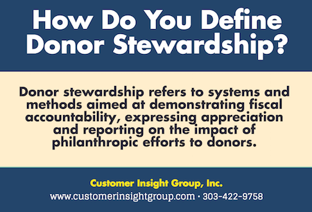 What is Donor Stewardship