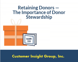 Donor Stewardship Definition and Process