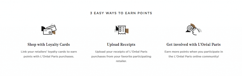 L'Oreal Paris Worth It Rewards Program