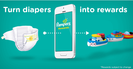 Pampers Rewards Turn Diapers into Rewards