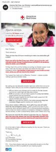 Email Call To Action for Nonprofit