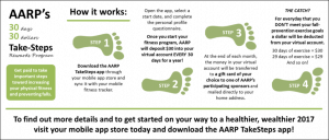 Healthy Lifestyle Rewards for AARP Members