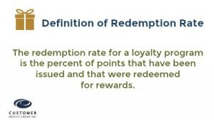 loyalty program redemption rate definition