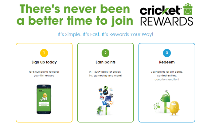 Crickets Loyalty Program Sign up