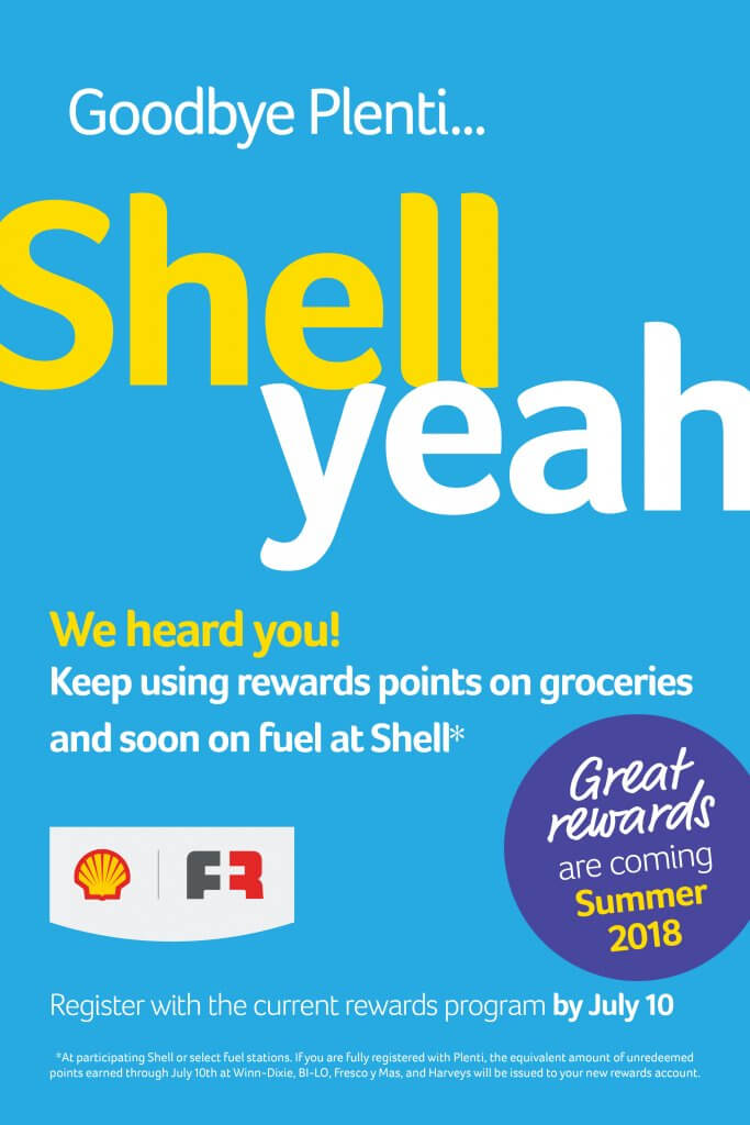 Southeastern Grocers Transitions to Shell Fuel Rewards